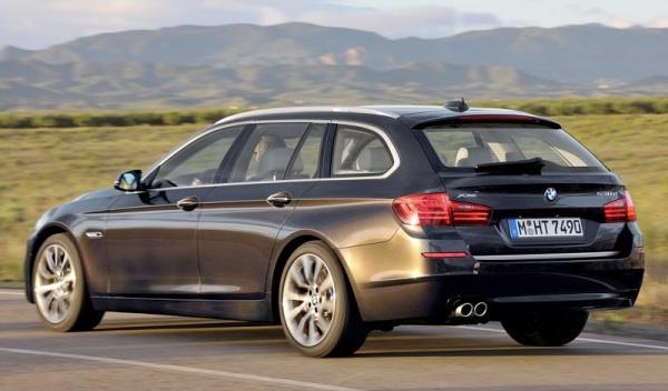 BMW Serie 5 2013 Touring 3/4 trasera