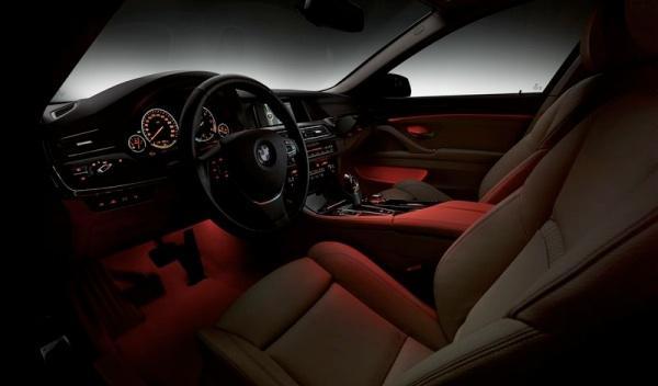 BMW Serie 5 2013 iluminación interior
