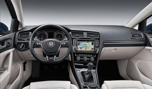 Interior del Volkswagen Golf Variant 7