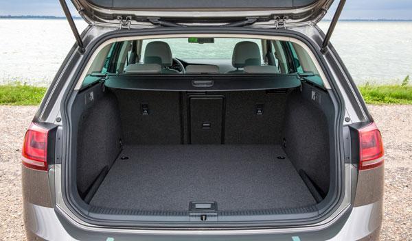 Maletero del Volkswagen Golf Variant 7