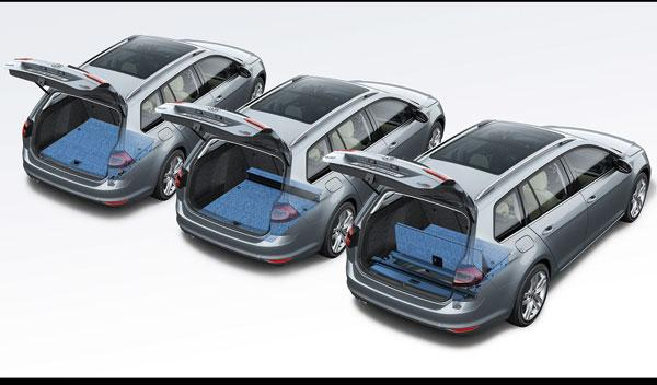 Suelo del maletero del Volkswagen Golf Variant 7