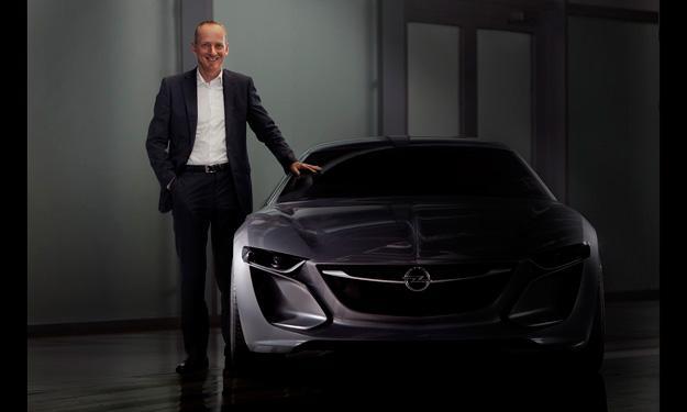 Concepto Opel Monza frontal