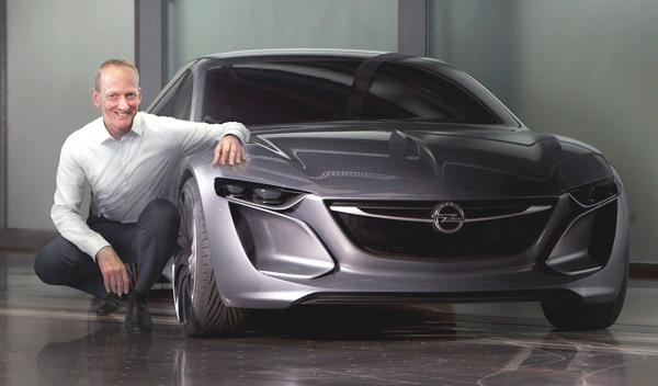 Concepto Opel Monza delantera