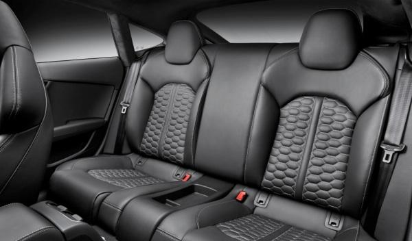 Audi RS7 plazas traseras