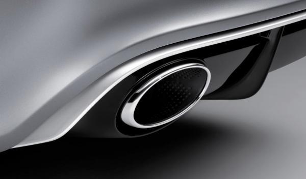 Audi RS7 detalle escape