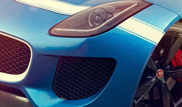 Jaguar Project 7 Concept, Goodwood Festival, presentación, Jaguar
