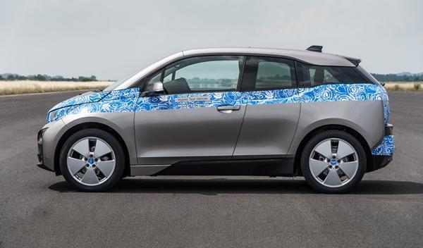 BMW i3 perfil