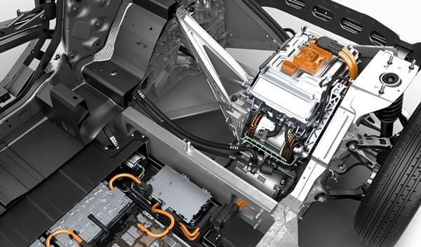 BMW i3-motor