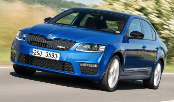 Skoda Octavia RS frontal