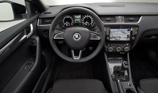 Skoda Octavia RS interior