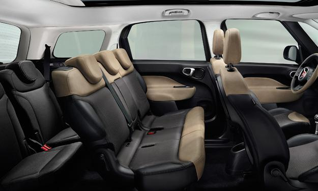Fiat 500 Living interior