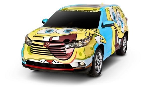 Toyota Highlander de Bob Esponja