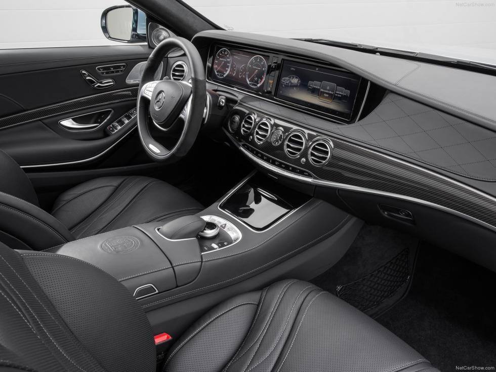 Mercedes S63 AMG interior