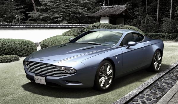 Aston Martin Zagato Coupe Delantera