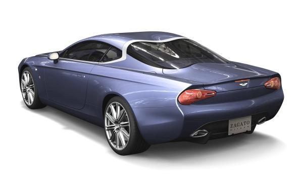 Aston Martin Zagato Coupe Trasera