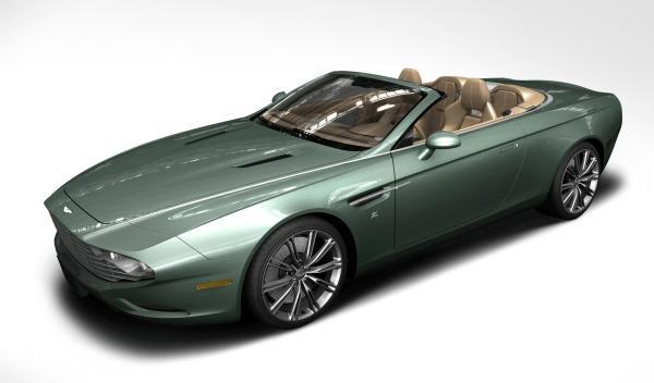 Aston Martin Zagato Cabrio Delantera