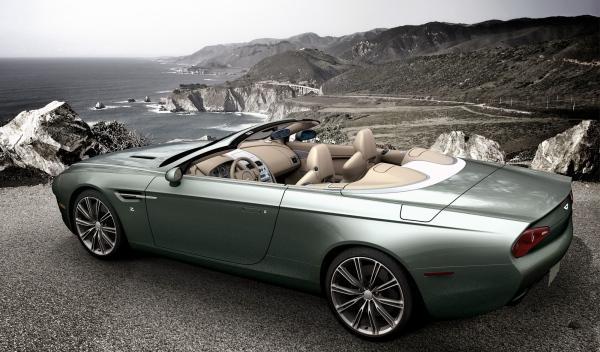 Aston Martin Zagato Cabrio Trasera