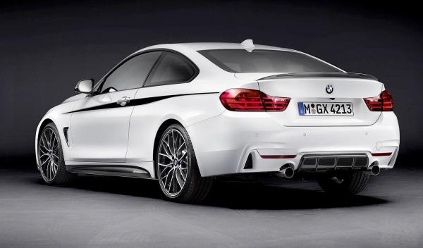 BMW Serie 4 M Performance 3-4 trasera