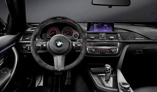 BMW Serie 4 M Performance salpicadero