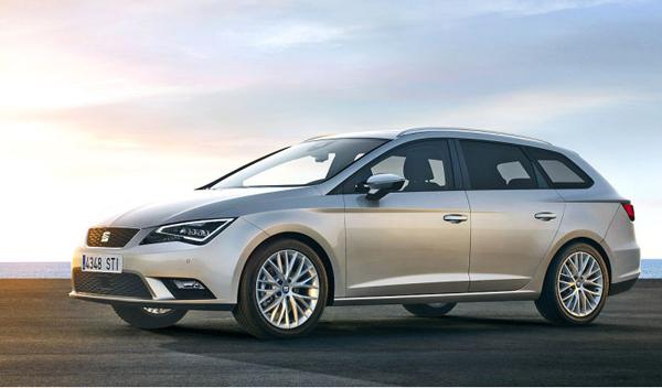Seat Leon ST frontal.