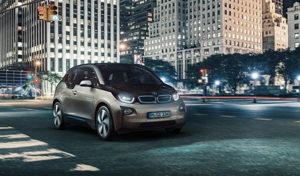 BMW i3 de producción delantera 2