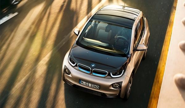 BMW i3 de producción techo
