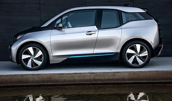 BMW i3 de producción perfil