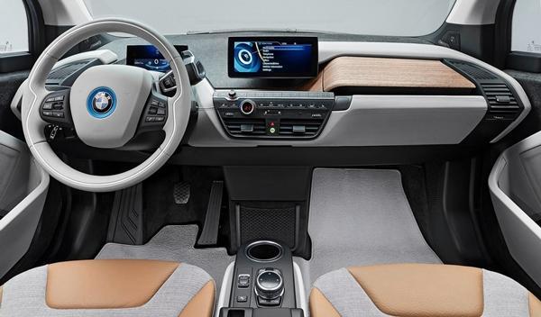 BMW i3 de producción interior