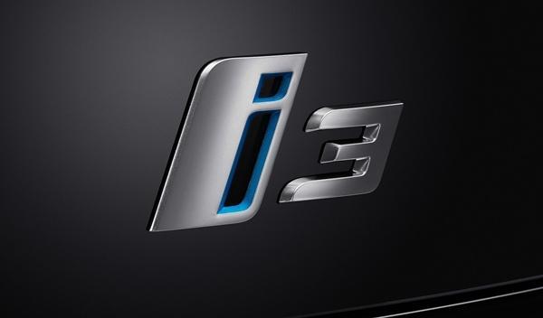 BMW i3 de producción logo