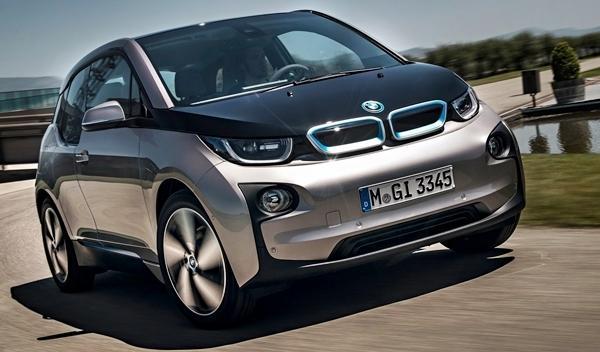 BMW i3 de producción delantera