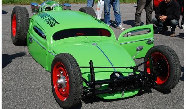volkswagen escarabajo tuneado imagen delantera