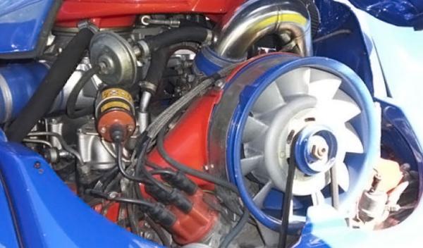 volkswagen escarabajo con motor retocado