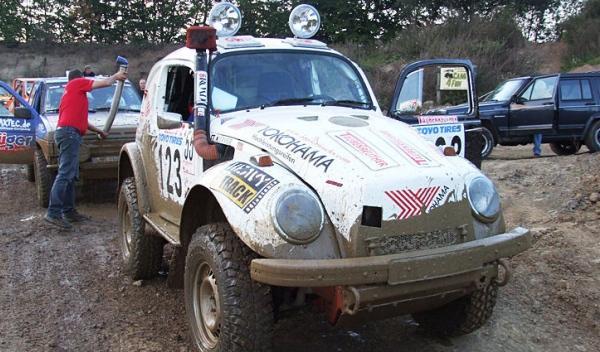 volkswagen escarabajo de rally