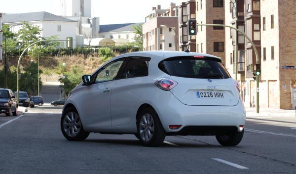 Renault ZOE trasera