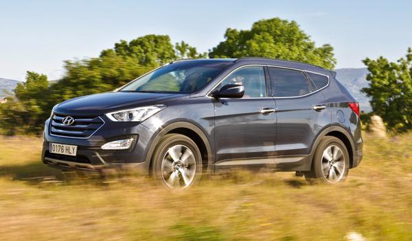 Hyundai Santa Fe delantera
