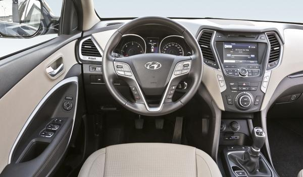 Hyundai Santa Fe salpicadero