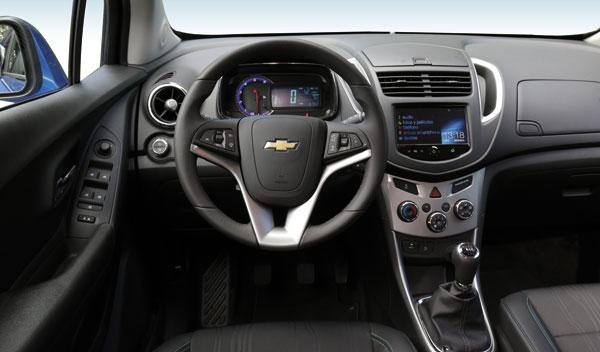 Chevrolet Trax Polivalencia En Frasco Pequeo Autobild