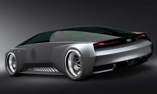 Audi Shuttle Quattro Concept trasera