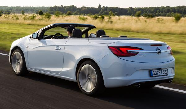 Opel Cabrio sin capota