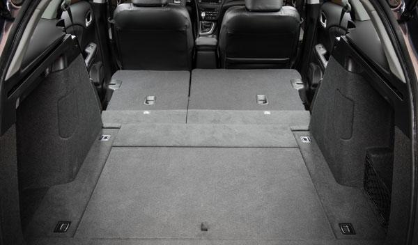 Nuevo Honda Civic Tourer 2013 maletero