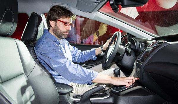 Nuevo Honda Civic Tourer 2013 puesto conduccion