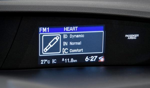 Nuevo Honda Civic Tourer 2013 pantalla multifunción
