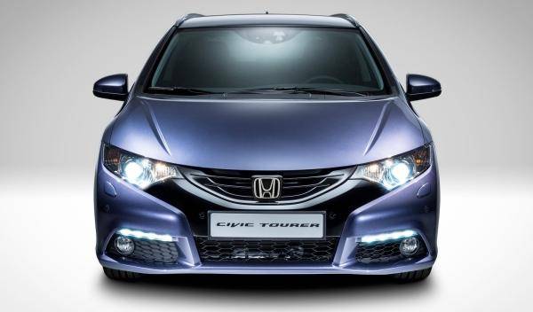 Nuevo Honda Civic Tourer 2013 frontal