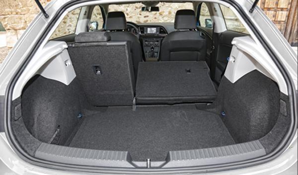 Seat León FR maletero