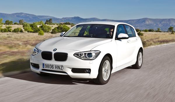 BMW 114i delantera