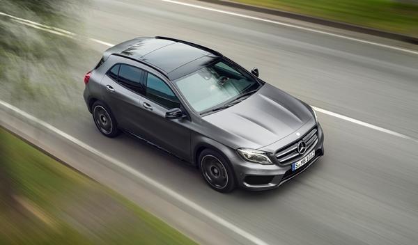 Nuevo Mercedes GLA delantera 2