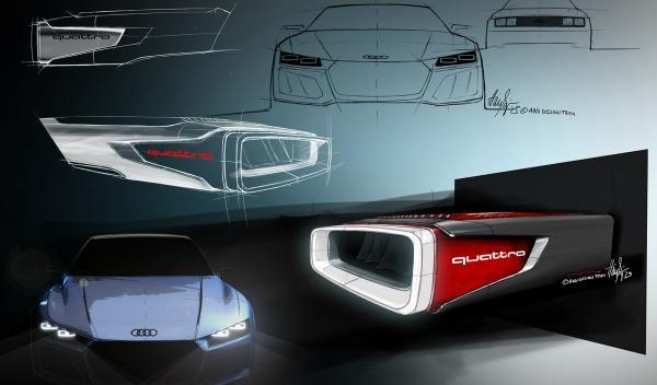 Audi Quattro Concept Frankfurt 2013
