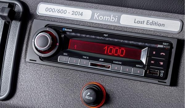"""Volkswagen T2 """"Last Eidtion"""" Placa Edición Limitada"""