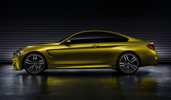 BMW Concept M4 Coupe perfil