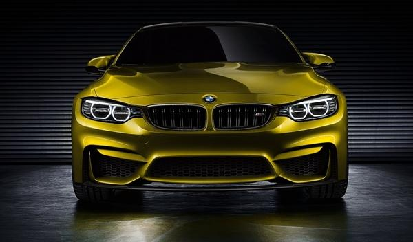BMW Concept M4 Coupe frontal